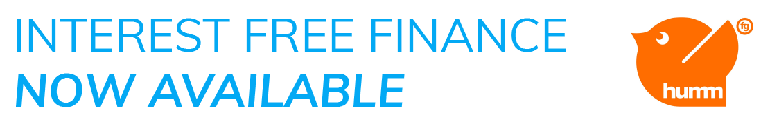 Interest free finance now available